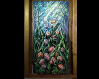 Ukrainian Pysanky Painting