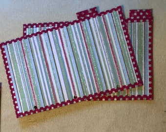 budget binder dividers top tabs pack of 4 or 8 etsy