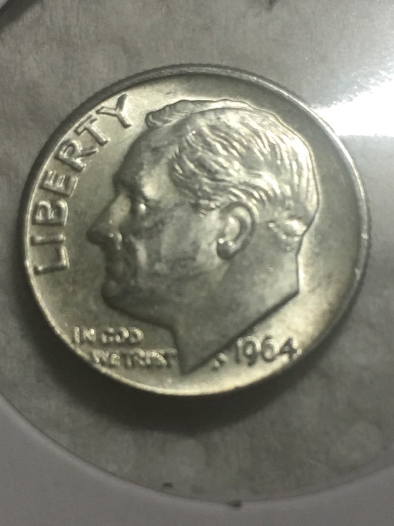 First And Last Coin Collection 1946 /& 1964 Silver Roosevelt Dimes