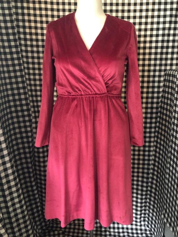 Sz L/XL - Velvet Dress