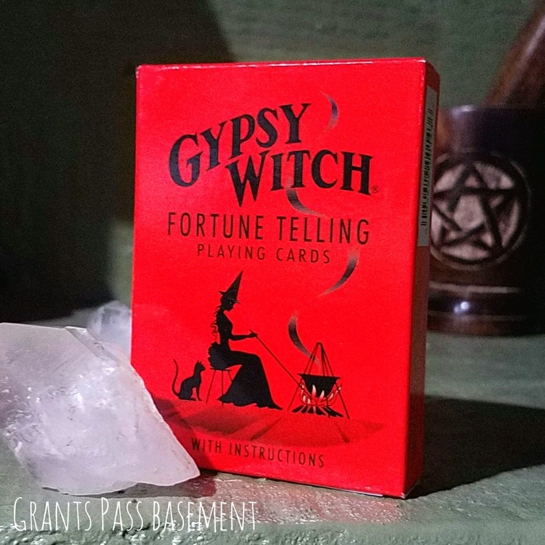 Gypsy Witch Fortune Telling Cards, Fortune Telling, Tarot Cards, Oracle  Cards
