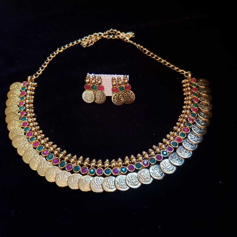 09429ccd0c37a Indian Jewelry, Traditional temple Jewelry, Gemstone, Bollywood jewelry,  Bridal Jewelry, South Indian Jewelry, Paisala Haram, Ruby, Emerald