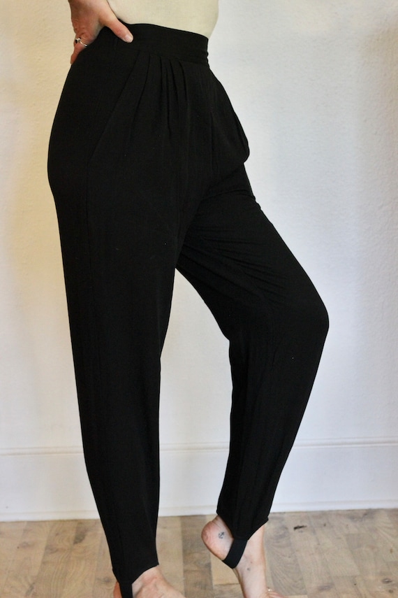 90s High Waisted Stirrup Pants