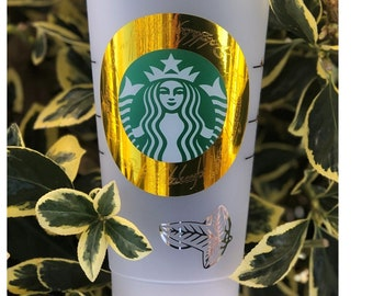 Lord of the Rings(LOTR)Starbucks Cup/Tree of Gondor/Evenstar Starbucks cup/free name personalization
