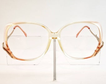 1ee0be4adb Starline Design Non-Prescription Vintage Butterfly NOS Glasses with Non-Glare  Lenses  Ready-to-Wear