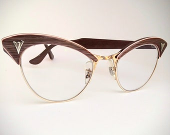 8f0cbda649 American Optical Non-Prescription Vintage Eyeglasses with Non-Glare Lenses   Ready-to-Wear