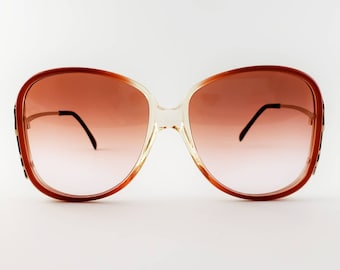 a0cfcdc961 Luxottica Non-Prescription Vintage NOS  Avant Garde  Sunglasses with Hand-Tinted  Lenses  Ready-to-Wear