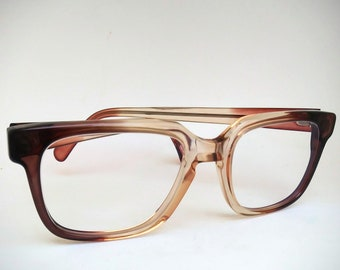 c55af4209b Parade Non-Prescription Vintage Two-Tone NOS Glasses with Non-Glare Lenses   Ready-to-Wear