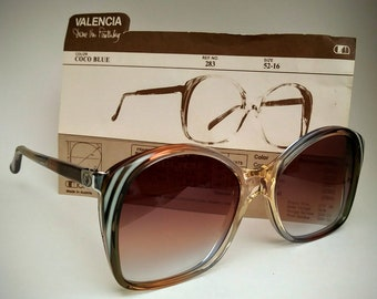 639796a247 DVF Non-Prescription NOS Vintage  Valencia  Butterfly Sunglasses with Hand-Tinted  Lenses  Ready-to-Wear