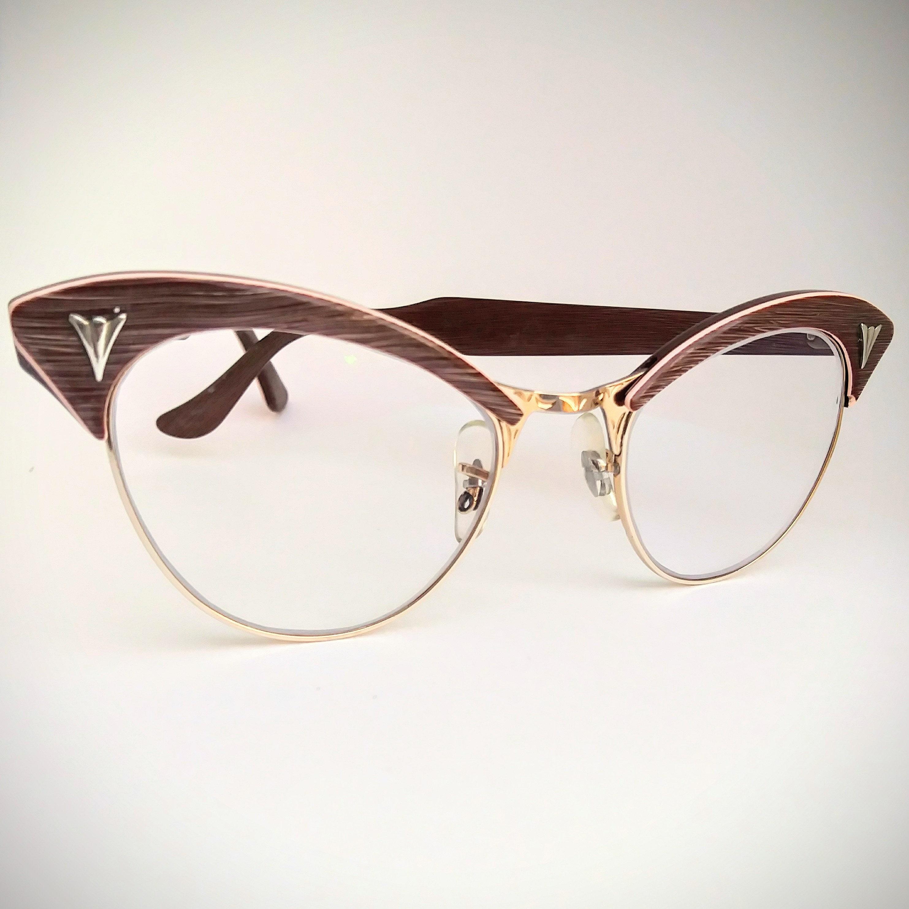fdd895dba6 American Optical Non-Prescription Vintage Eyeglasses with Non-Glare Lenses   Ready-to-Wear