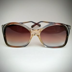 Laurence Non-Prescription Vintage Mod  65 Sunglasses with Tinted