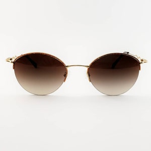 a2846788b35d2 Tura Non-Prescription Vintage Semi-rimless Sunglasses with Hand-Tinted  Lenses  Ready-to-Wear
