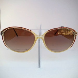 abe8fc64b4 Laurence Non-Prescription Vintage Mod. 65 Sunglasses with Tinted Lenses   Ready-to-Wear