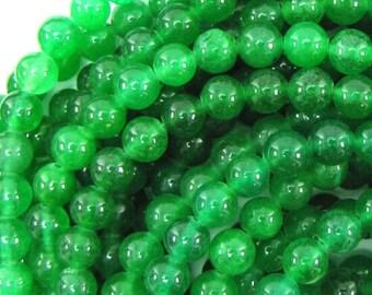8390 Glass Beads Czech Aqua Green 10mm 16inch *UK  SHOP*