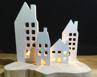 Christmas Decorations | Concrete House | Home Decor | Concrete Christmas Decor | Scandi Christmas | Xmas Decor | Christmas Decor | Nordic