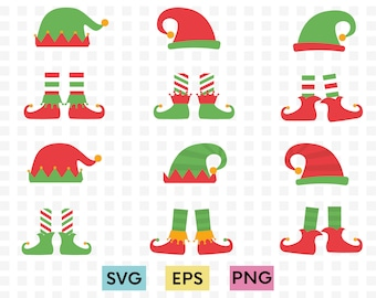 Elf Feet Svg Etsy