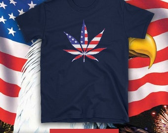 AMERICAN WEED FREEDOM  Short-Sleeve T-shirt