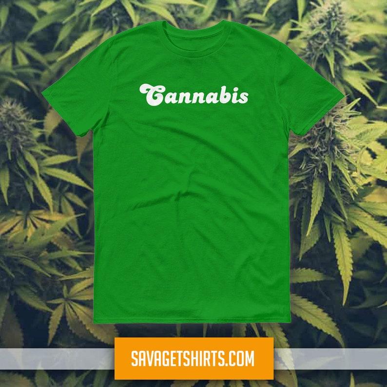 CANNABIS Short-Sleeve T-shirt image 1