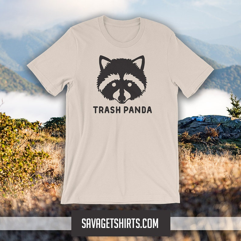 TRASH PANDA Short-Sleeve T-shirt image 1