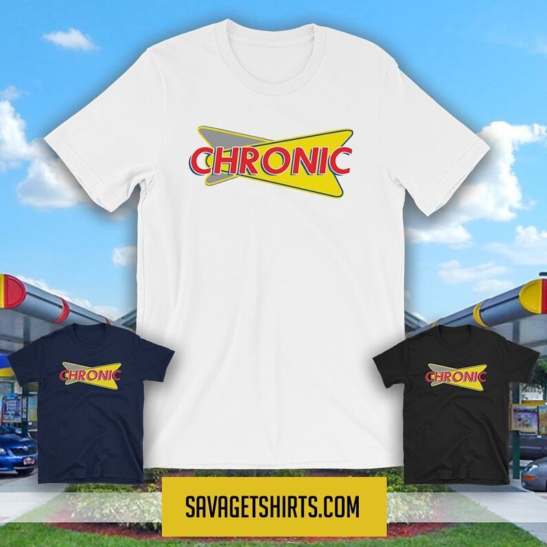 CHRONIC PARODY Short-Sleeve T-shirt image 1