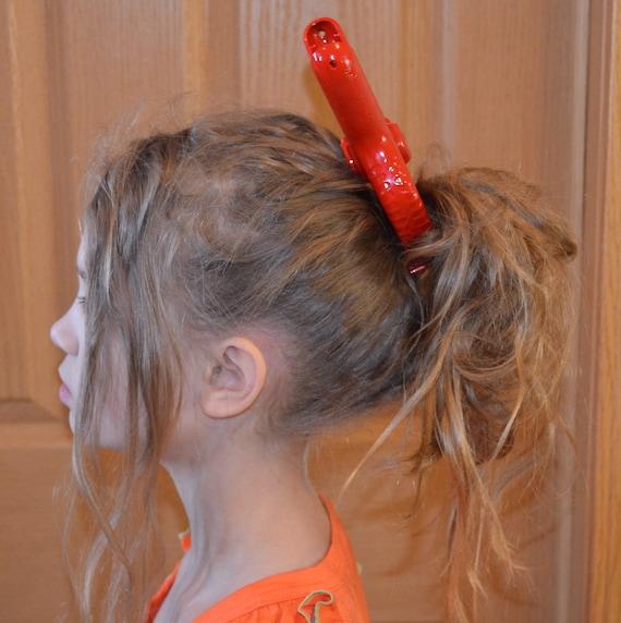 Custom Disney Ghibli Arrietty Cosplay Red Hair Clip Safety Pin Sword Costume