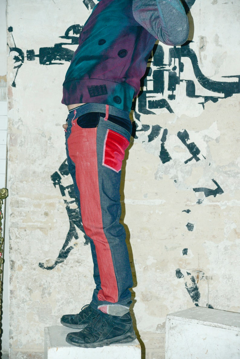laloquita/'s krazzy Frog Jeans Pants in size 48 from the Cultural Message Berlin Lichtenberg