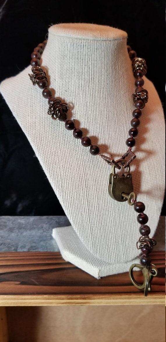 Interlinking Chain Collar Slave Collar BDSM Necklace Bondage Day Collar Fetish Choker BDSM Jewelry Submissive Collar