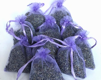 100/% natural organic lavender Halloween gift Wedding favors Set of 3,5,10,20 pcs Lavender sachet bags with black flower