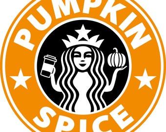 Pumpkin Spice Svg Etsy