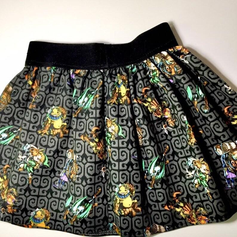 gamer skirt Toddler skirt circle skirt twirl skirt skater skirt cute skirt toddler gift