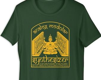 Synth/étiseur Modulaire Meduse de Cables Audio pour Musicien T-Shirt