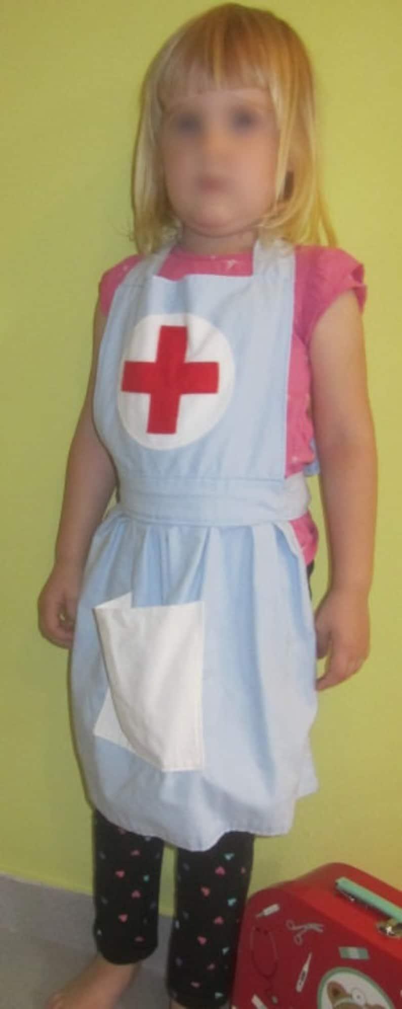 Sisters Apron  Costume Nurse Kids