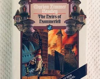 MARION ZIMMER BRADLEY - The Heirs of Hammerfell - 1989 Hardcover First Printing - Darkover Novel