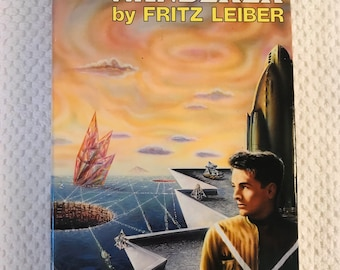 FRITZ LEIBER - The Wanderer - Nice Hardcover in DJ - Science Fiction Classic