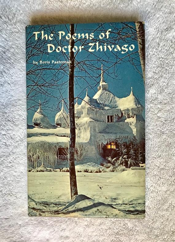 Boris Pasternak The Poems Of Doctor Zhivago 1967 Hardcover