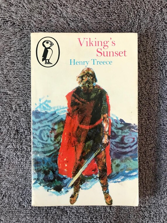 Puffin Books by Henry Treece Paperback Book The Cheap Fast Viking/'s Sunset