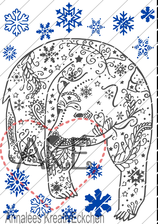 Winter Bear Plotter File