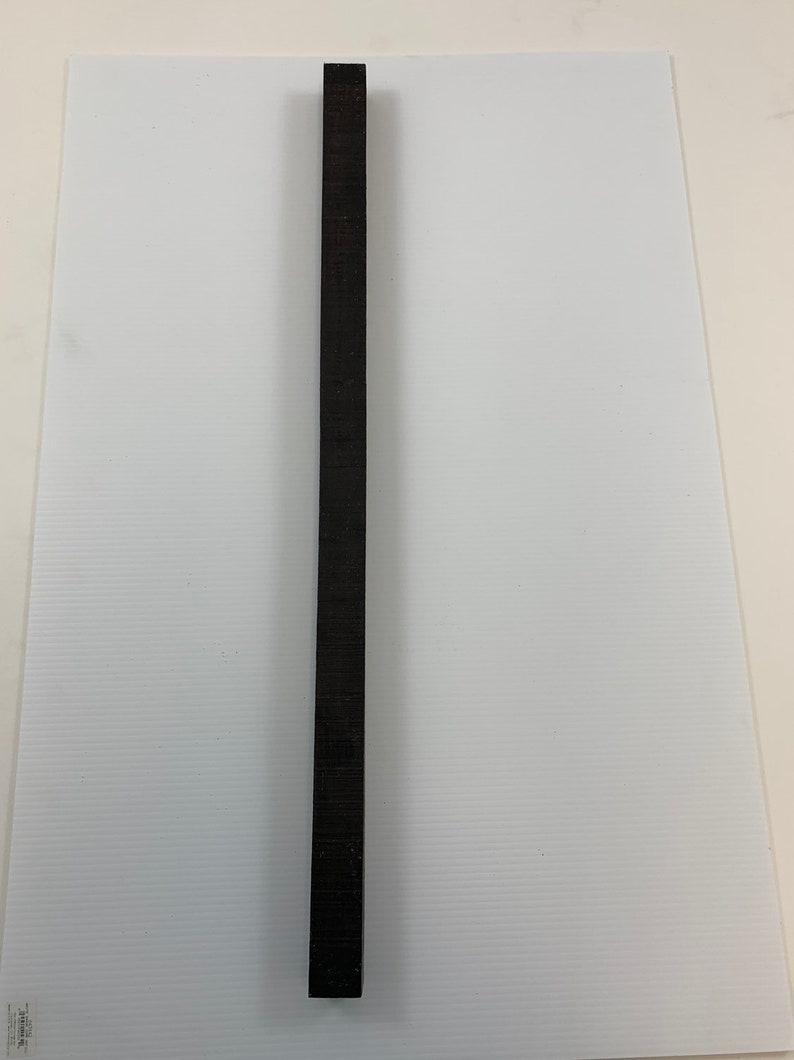 Gaboon Ebony Turning blanks 1.5 x 1.5 x 30 one piece Free Shipping