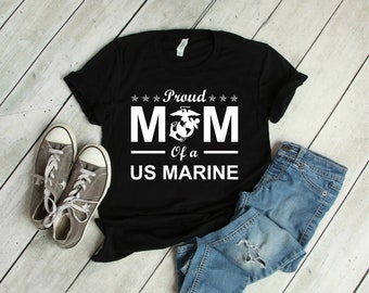 6a0e4d2b Proud Mom of a US Marine Shirt, Marine Mom Shirt, Mother's Day Gift, Proud  Mom, Gift For Mom, US Marine Mom