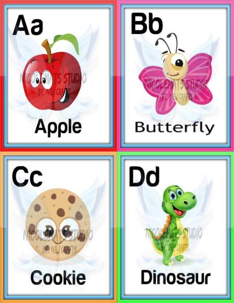 image regarding Alphabet Printable Flash Cards named ABC Alphabet Printable Flash Playing cards, Childrens Enlightening Reward