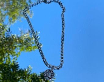 Leo  Rhodium Plated Brass Pendant 6.4mm x 11.6mm  0.3g  2pcs 3751082  Zodiac Sign