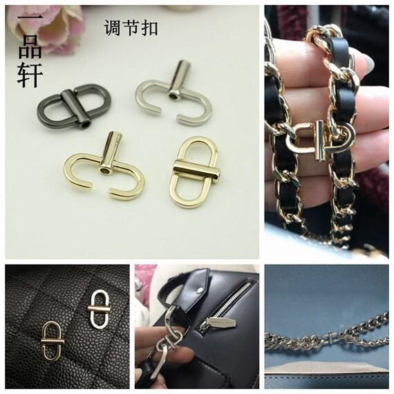 3dac239142edaf Handbag chain shortening clip Chanel Classic Chain bag | Etsy