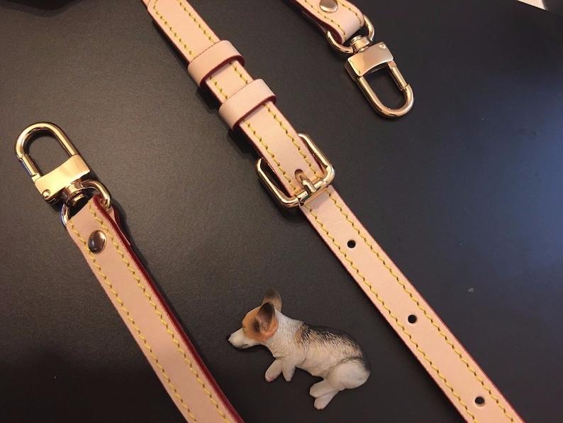 Eva Clutch Favorite Mm Pm Vachetta Leather Strap For Pochette Accessoire