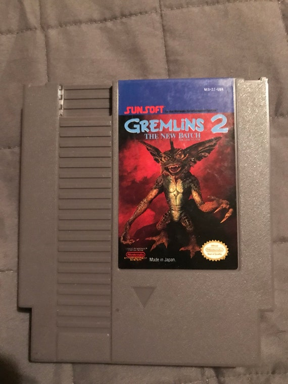 Gremlins 2 The New Batch Nes Video Game Etsy