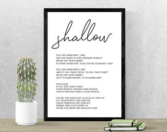 Song lyrics print | Etsy