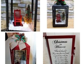 Christmas In Heaven Lantern Diy.Christmas Lanterns Etsy