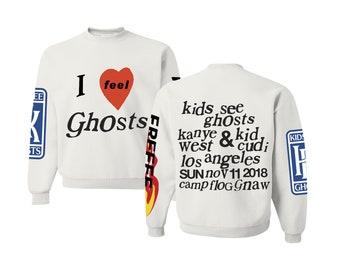 Kids See Ghosts Etsy