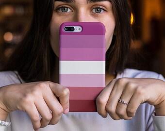 Lesbian Pride Phone Case   Lesbian Flag iphone Case   iPhone 6 7 8 Plus X XR XS Max   Samsung Galaxy S7 S8 S9   Christmas Gift