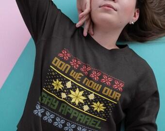 Gay Christmas Jumper   LGBT Rainbow Christmas Sweater   Gay Apparel   Gay Gifts   Ugly Christmas Sweatshirt   LGBT Christmas Gifts