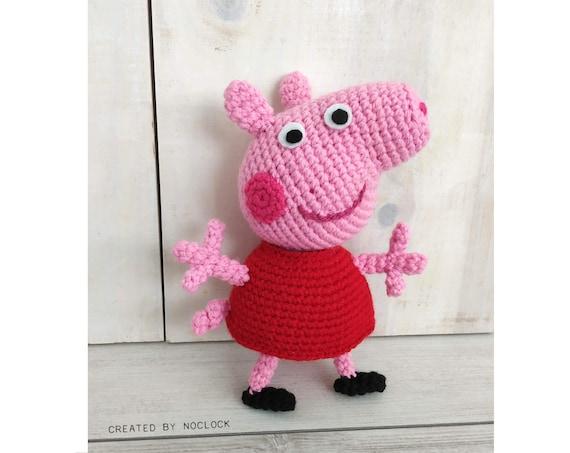 Peppa Pig Family Pattern amigurumi | Peppa pig family, Pig family ... | 453x570